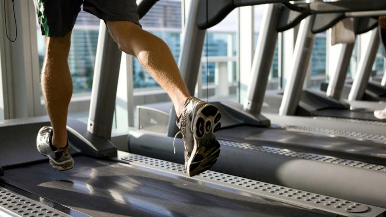 cinta de correr entrenamiento