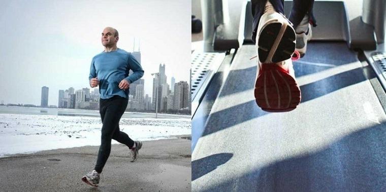 cinta de correr vs-correr-afuera