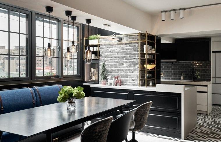 cocina con diseño elegante