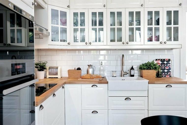 cocina-blanca-clásica