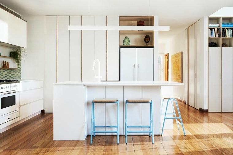 cocina contemporanea diseño con isla