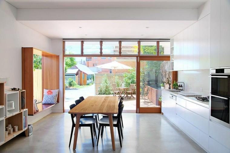 cocina diseño casual y minimalista