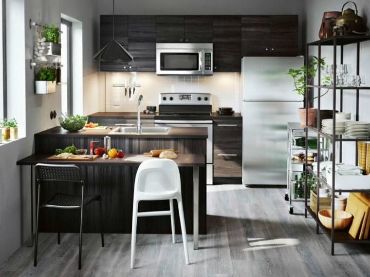 cocinas-ikea-de-madera