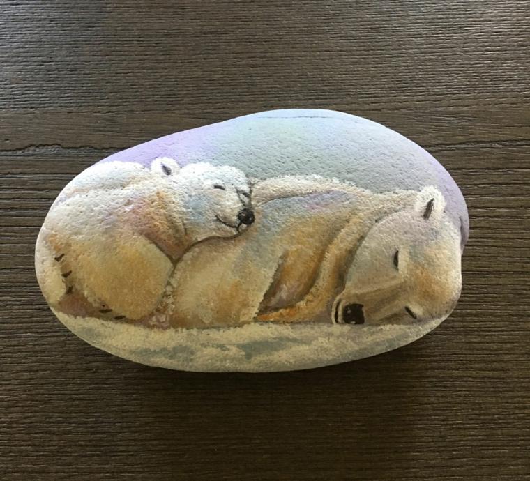 bonitas manualidades con rocas