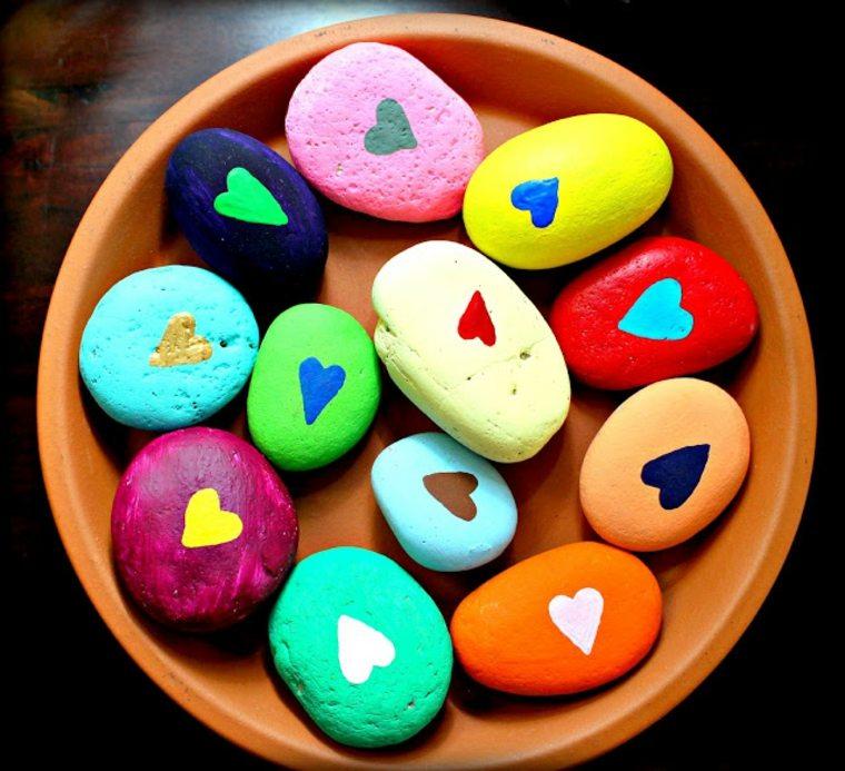 piedras corazones