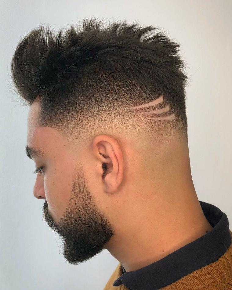 cortes de pelo hombre 2019-corto-detalles-cabello