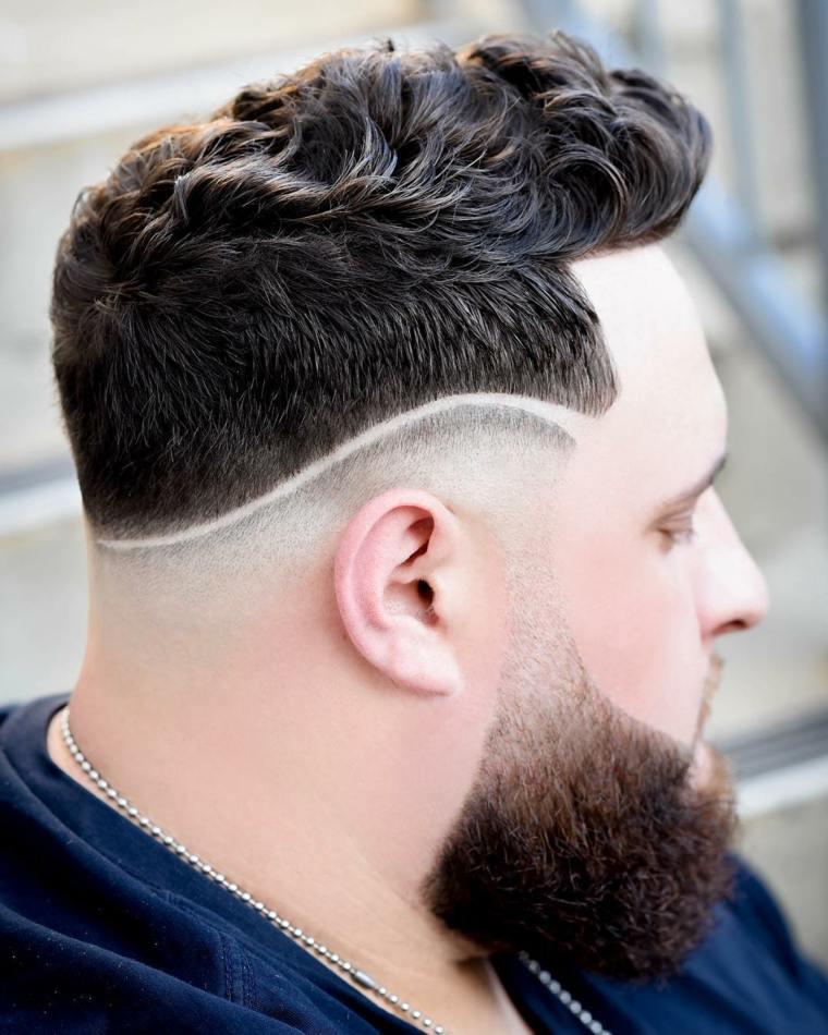 Corte de pelo corto de hombre 2019