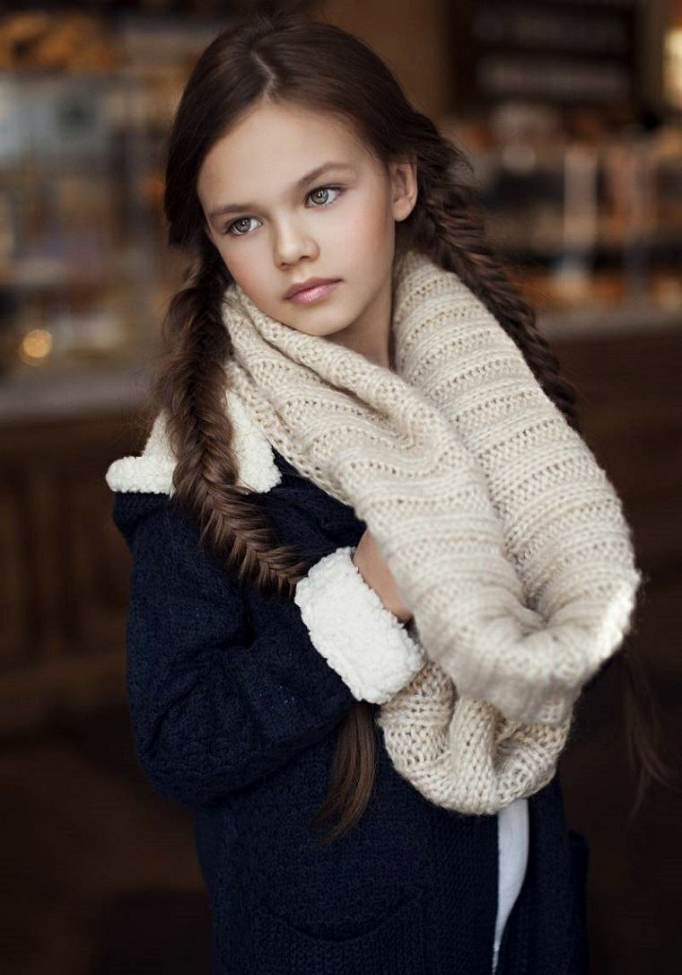 cortes de pelo niñas 2019-bellas-trenzas
