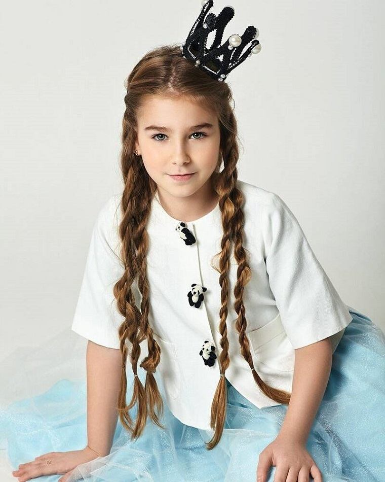 cortes-de-pelo-ninas-2019-trenzas-cabello-largo
