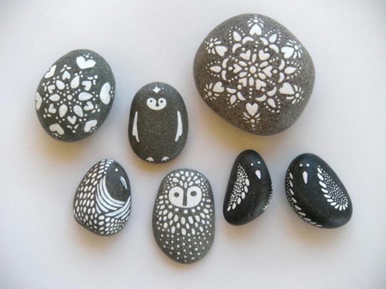 estupendas manualidades con piedras