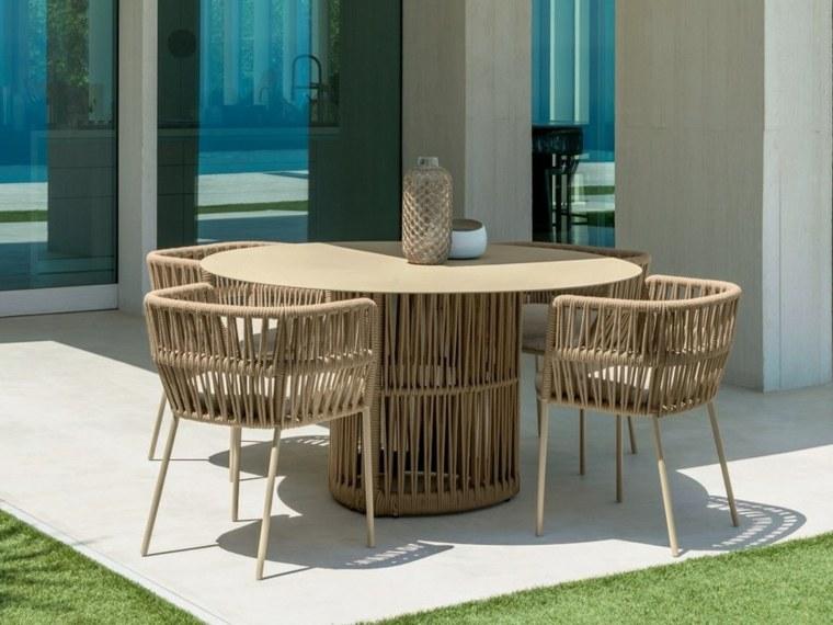 diseño de jardines 2019-mesa-comedor-estilo