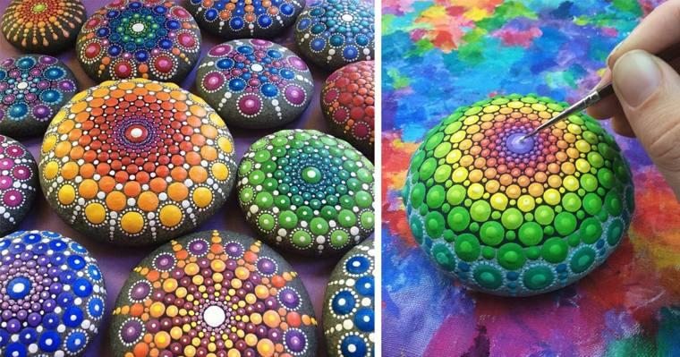 bonitas piedras pintadas