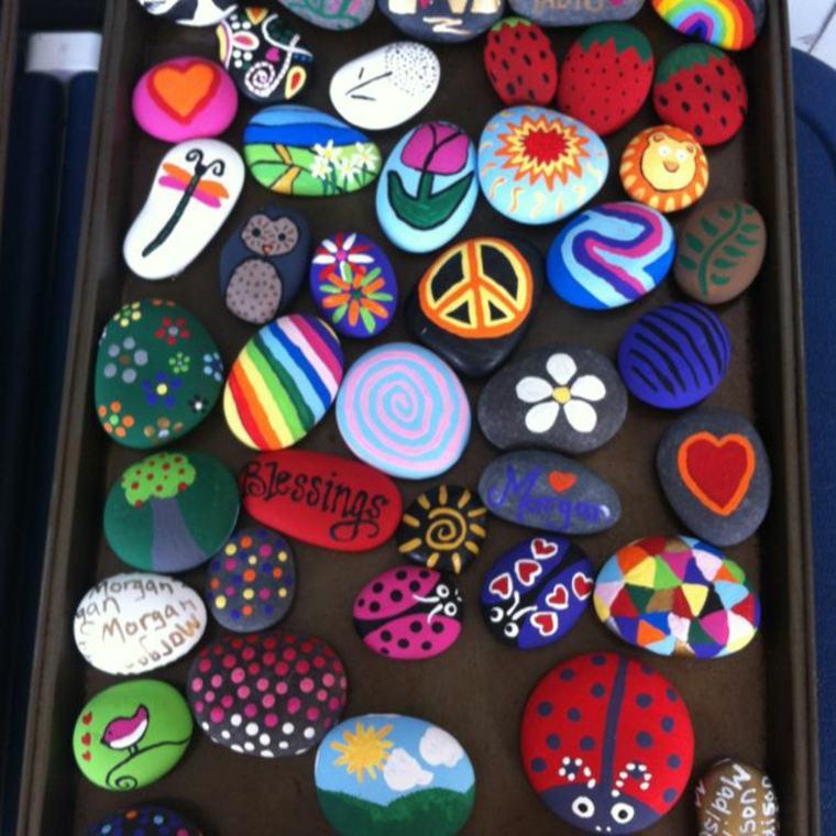 manualidades con rocas