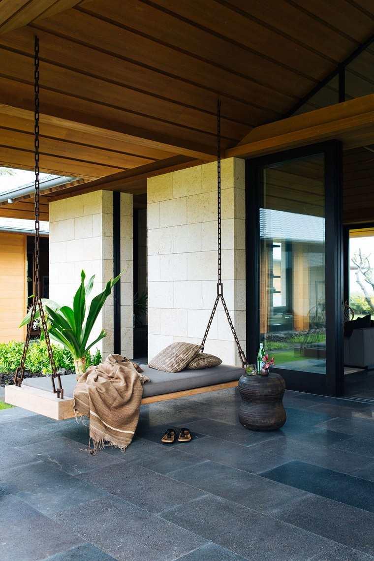 hamacas de jardín modernas ideas