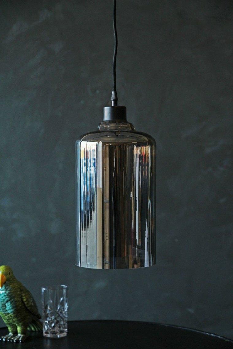 lámpara-de-diseño cristal ahumado