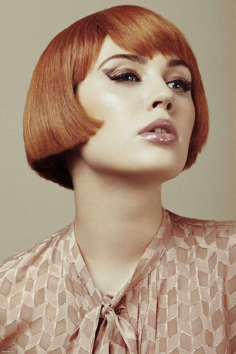 melenas cortas 2019 moda-color-original