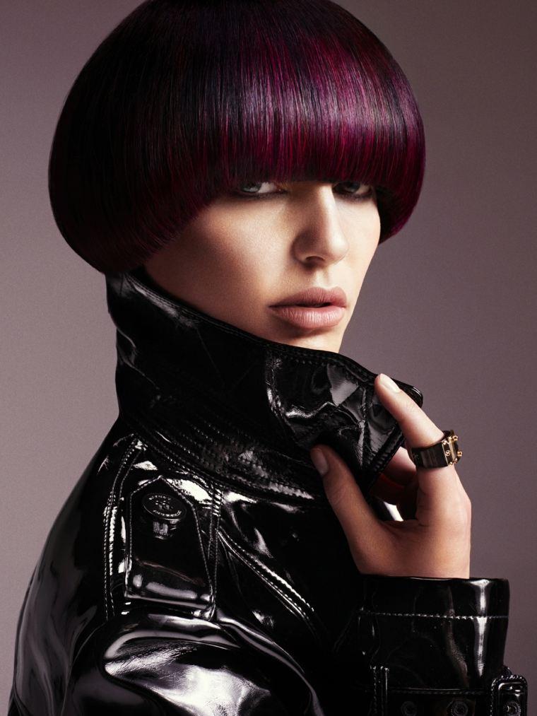 melenas cortas 2019 cabello-color-purpura