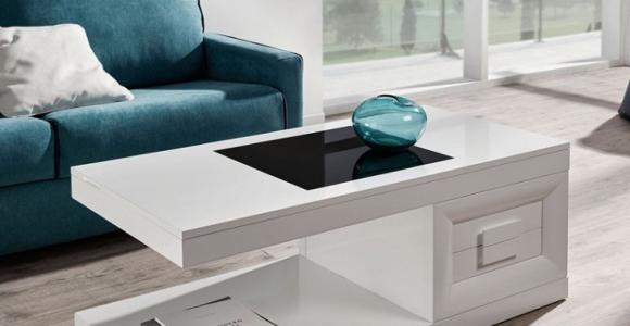 Mesas de centro originales para decorar tu salón y brindarte comodidad
