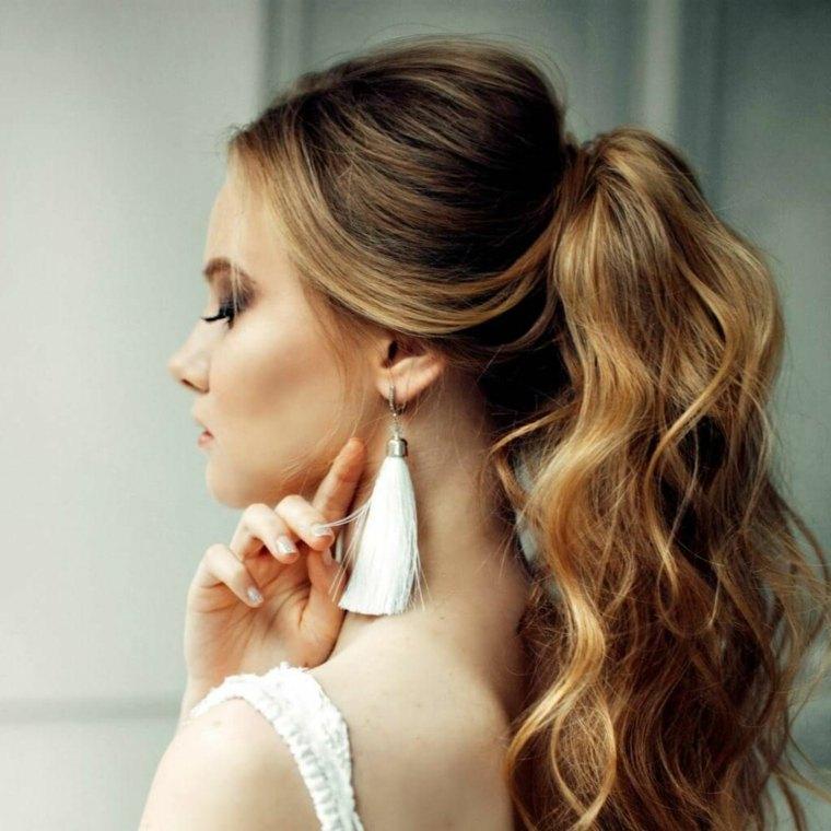 peinado-elegante-chicas-ideas-cabello-semirecogido