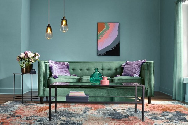 sala de estar colores ideas 2019