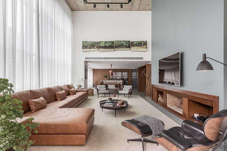 salón diseñado por ambidestro
