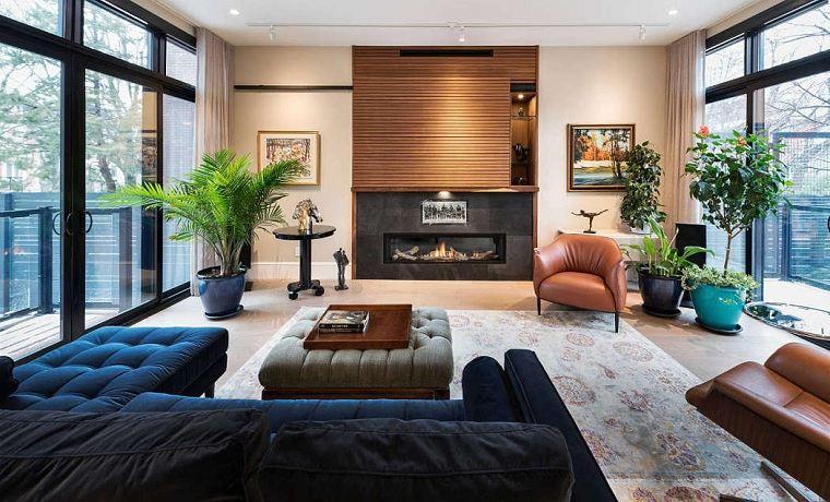 salón moderno ardington associates design