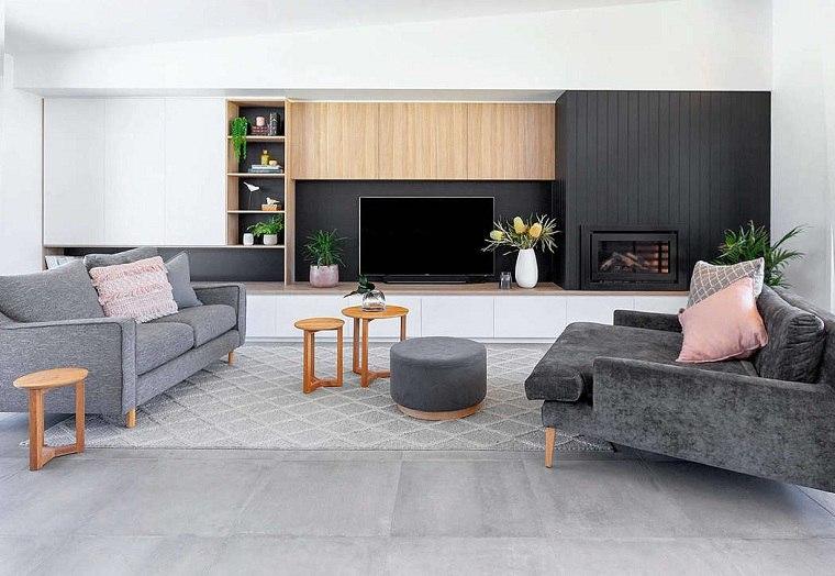 salón diseñado por dylan barber building design