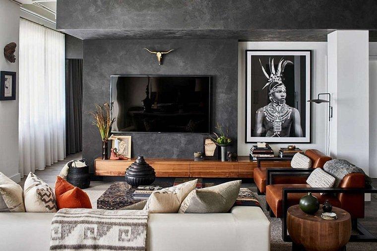salón diseñado por michael habachy