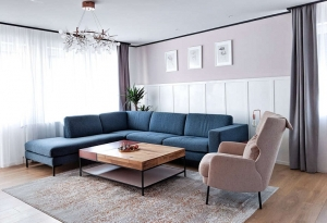 salón dseñado por muza creative