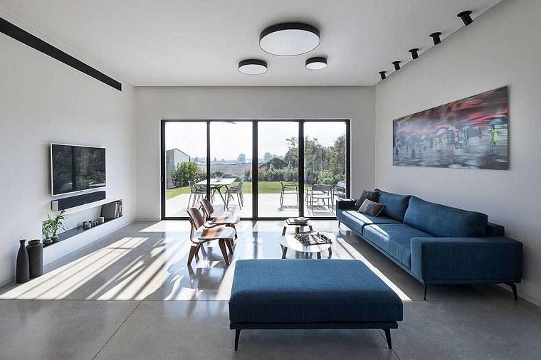 salón diseñado por neuman hayner architects