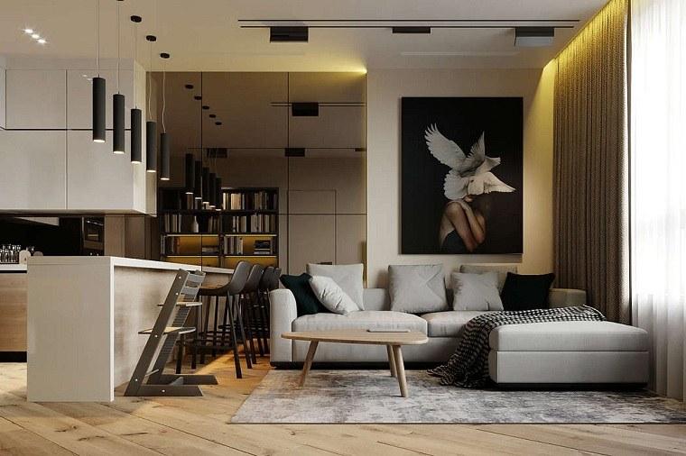 salón diseñado por prosvirin design