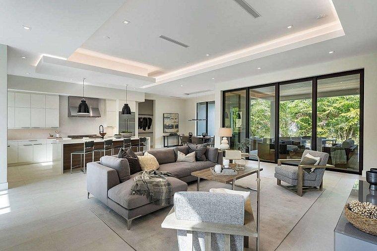 salón diseñado por restyle home