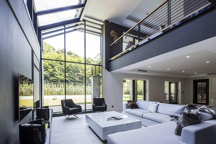 salón diseñado por studio mimarlk