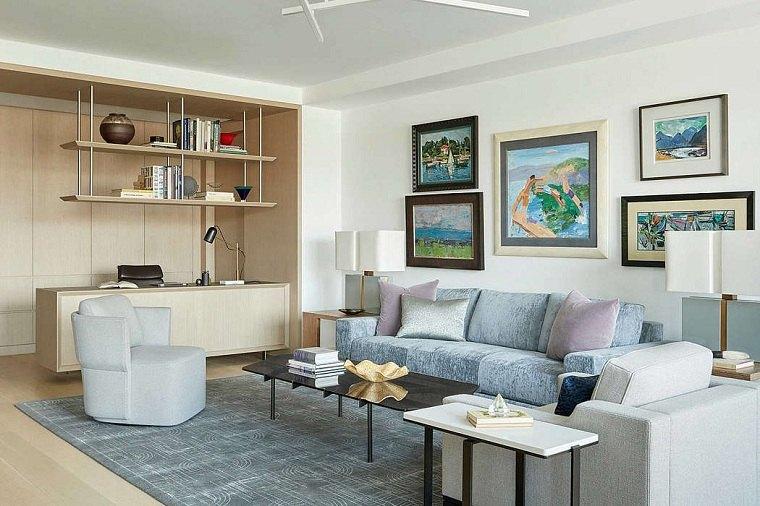 salón diseñado por studio ppark