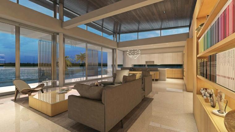 salones modernos 2019 hive architects