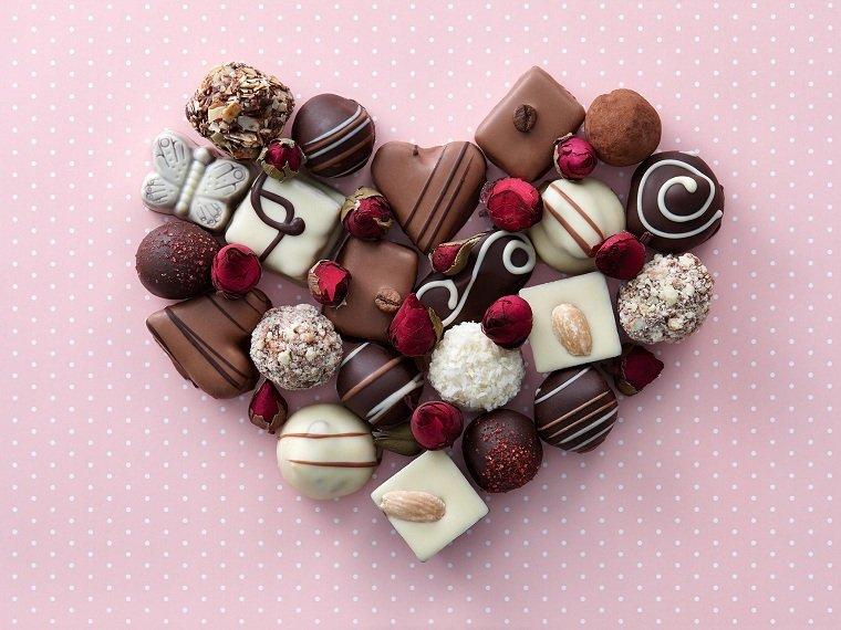 san valentin chocolate