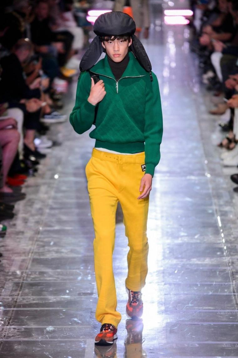 tendencias-2019-moda-Prada-pantalon-amarillo