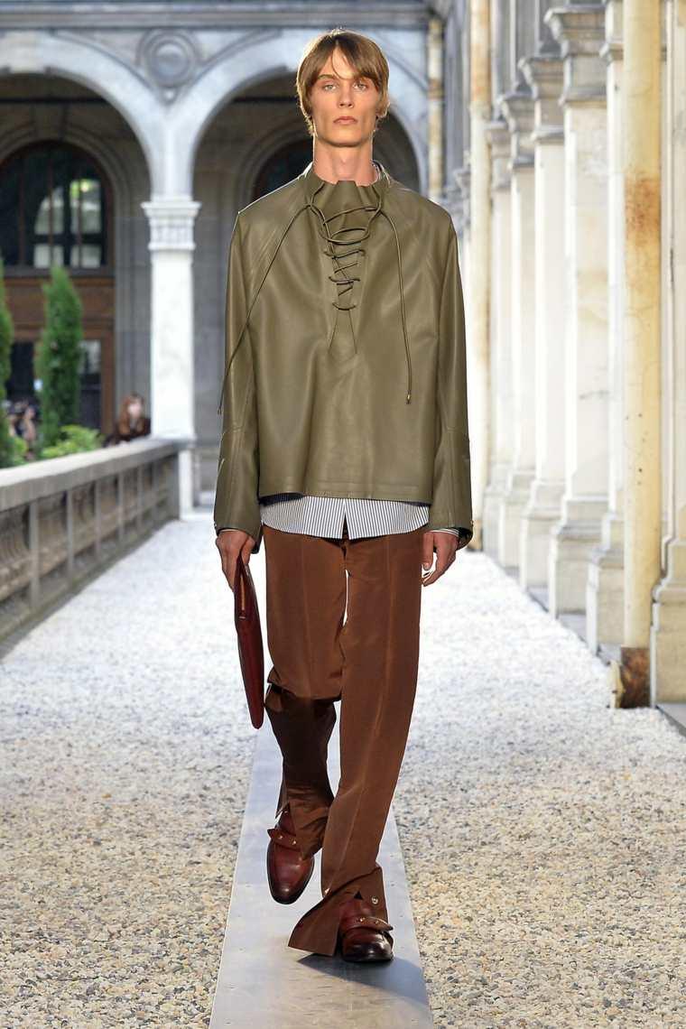 c298ab8076d16 Tendencias 2019 moda masculina - Lo mejor de las pasarelas -