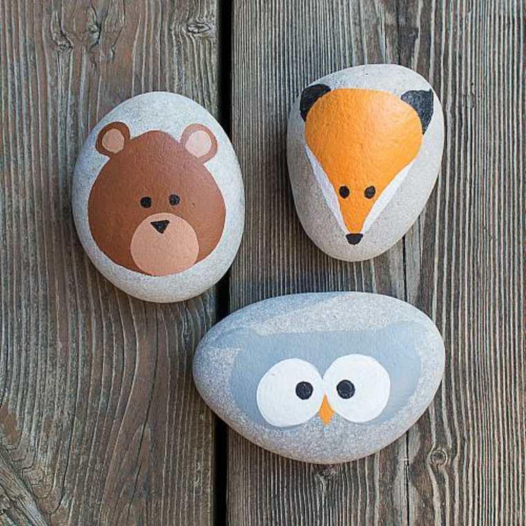 Cómo Pintar Piedras Ideas Sencillas Y Originales Para Decorar