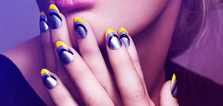unas-tendencias-2019-combinar-amarillo-purpura