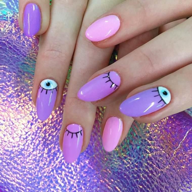 unas-tendencias-2019-combinar-rosa-purpura