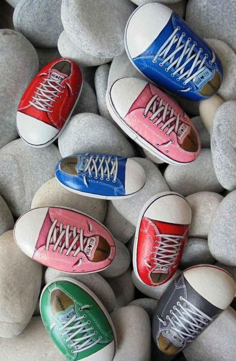 zapatillas de piedra