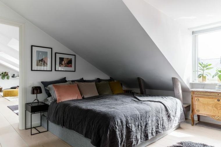 apartamento en el atico dormitorio