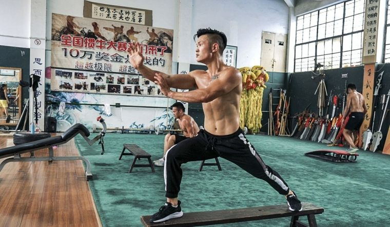 artes marciales entrenamiento