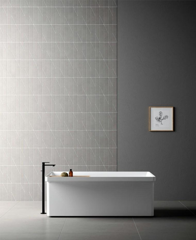 combinar azulejos de baño modernos