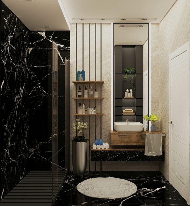 bano-moderno-diseno-marmol-negro