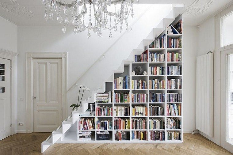biblioteca-escalera-ideas-casa