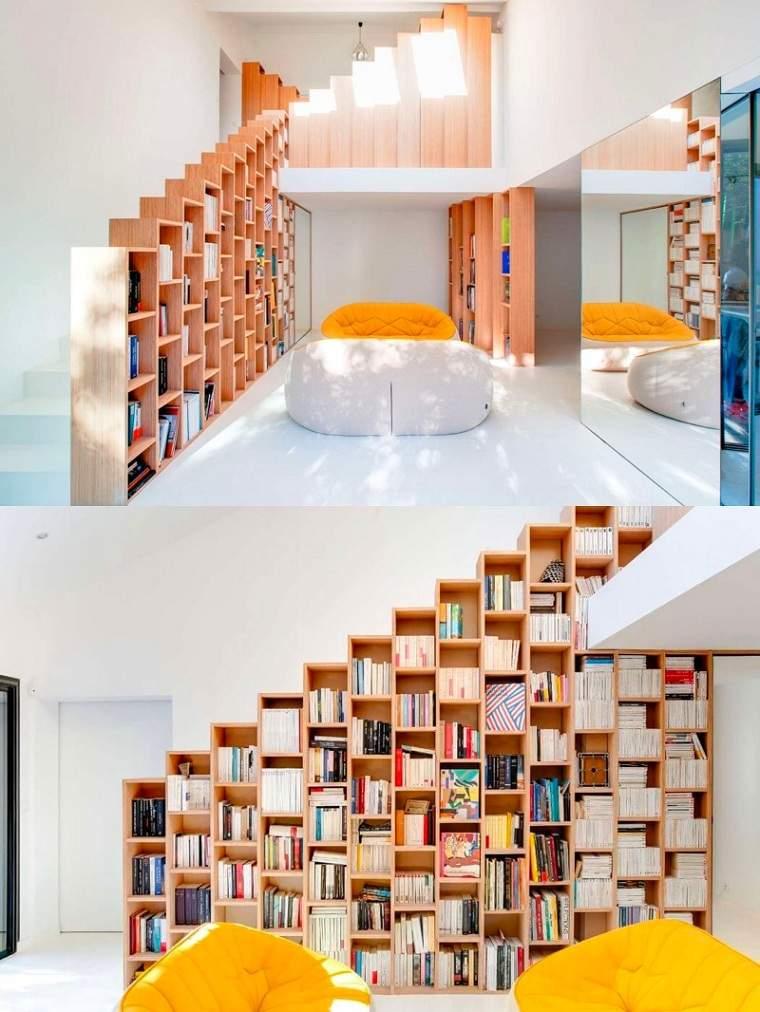 biblioteca-escaleras-ideas-estilo