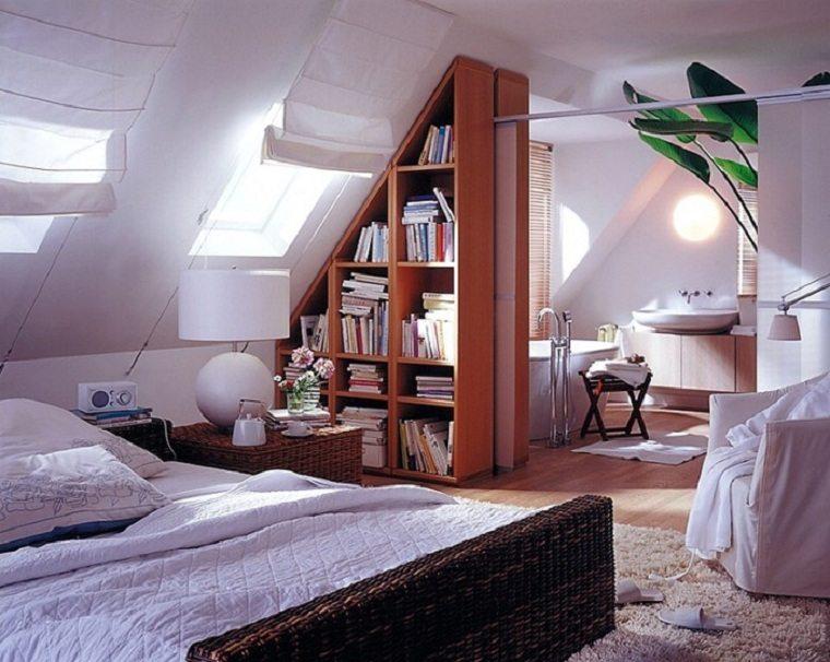 cama de mimbre dormitorio ideas