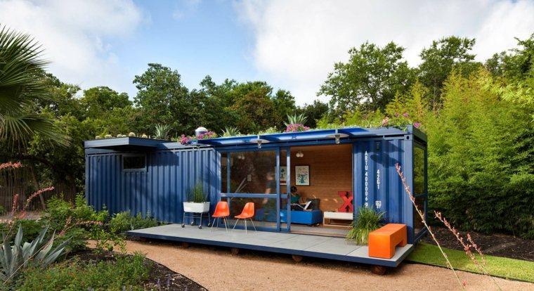 casas de contenedores reciclados